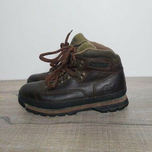 Timberland Classic Leather Euro Hiker Ankle Boots